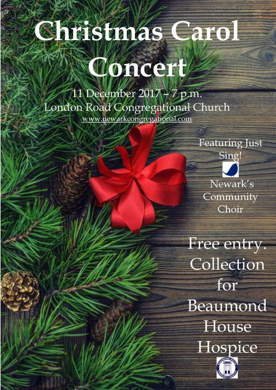Carol Concert Poster 2017